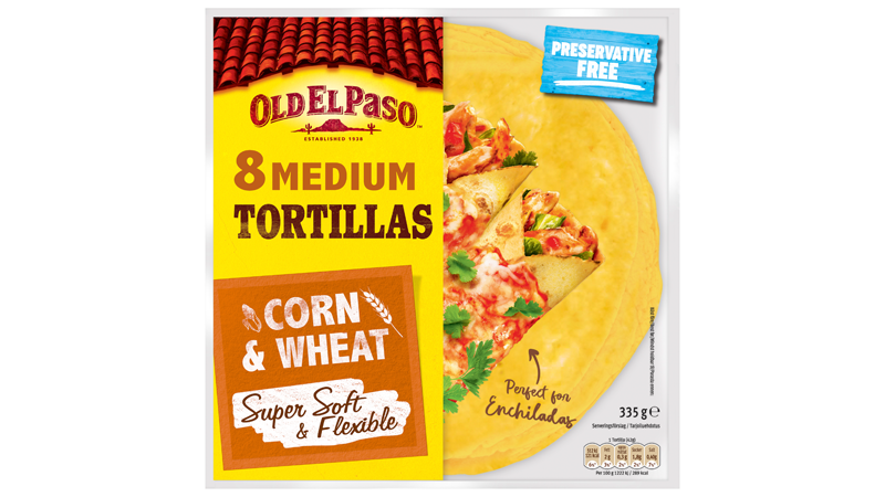 Supersoft Corn & Wheat Tortillas