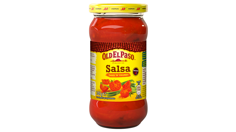 thick chunky salsa medium