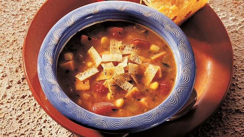 Thick n Chunky Tortilla Soup